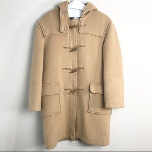 Vintage Authenticated Burberry Camel Wool Coat
